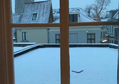 Pit in de winter